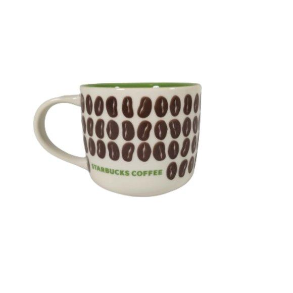 Starbucks Coffee Bean Mug 2009 New Bone China